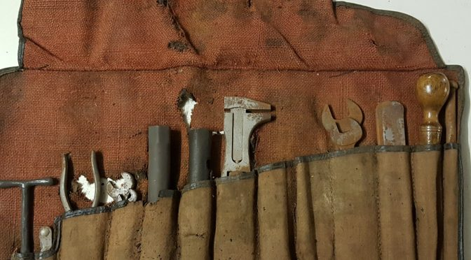 For sale: XK 120 tool roll (project)