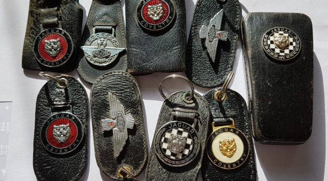 Something about Jaguar E Type key fobs