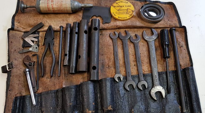 Tool Roll 61/62 fully original, authentic and complete for 2.600 GBP