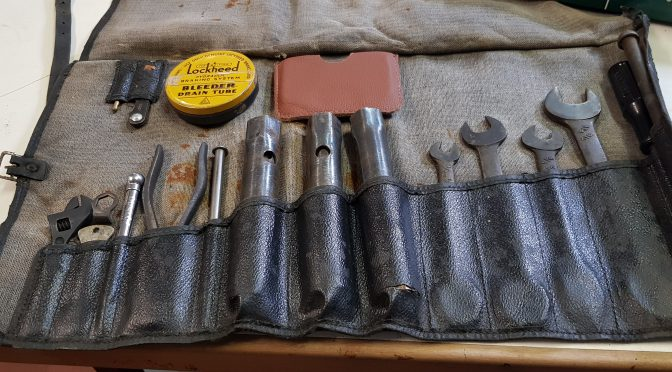 3 excellent tool kits for sale, XK 140, E Type 63 and E Type S2